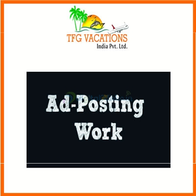 Real Home Based Ad Posting Part Time Work