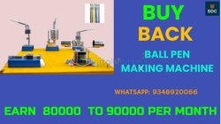 Ball Pen Making Machine with Buy Back Agreement,Call-9348920066